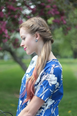 milkmaid ponytail hairstyle