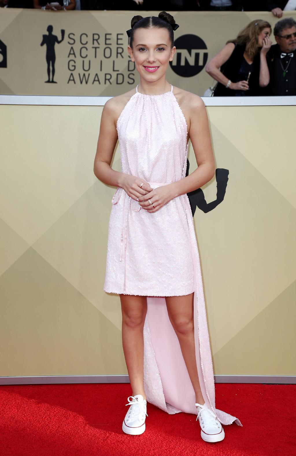 millie bobby brown 2018 sag awards