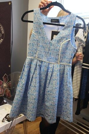 minkpink blue dress