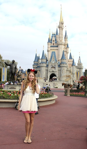 minnie mouse cinderella castle picture