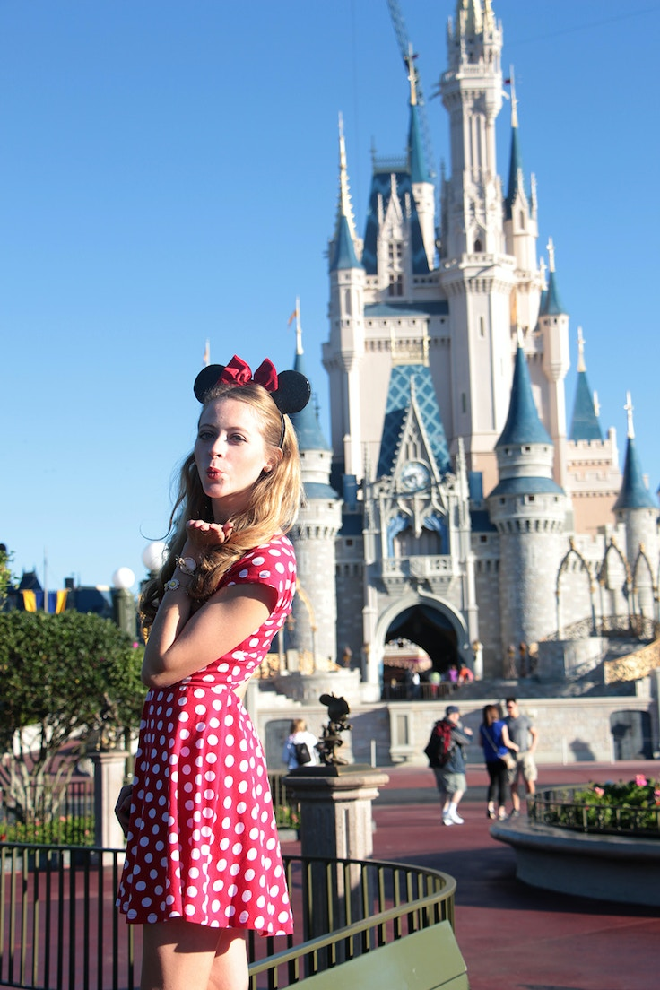 minnie mouse cinderella castle