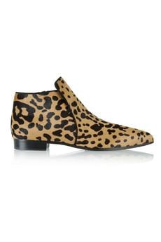 miu miu leopard booties