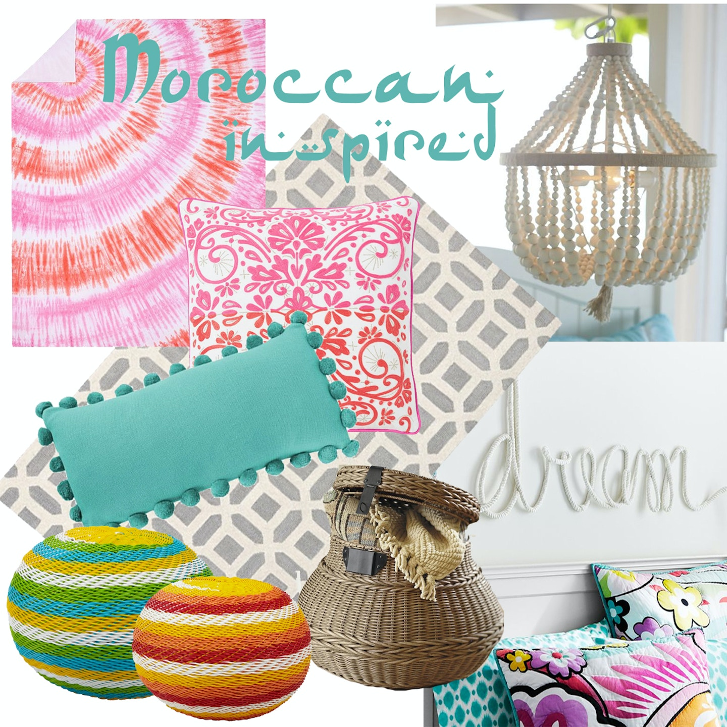 How to decorate your dorm room with Moroccan flair!