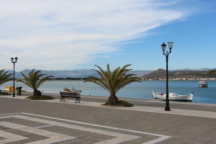 nafplio greece promenade