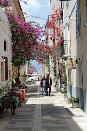 nafplio greece romantic streets