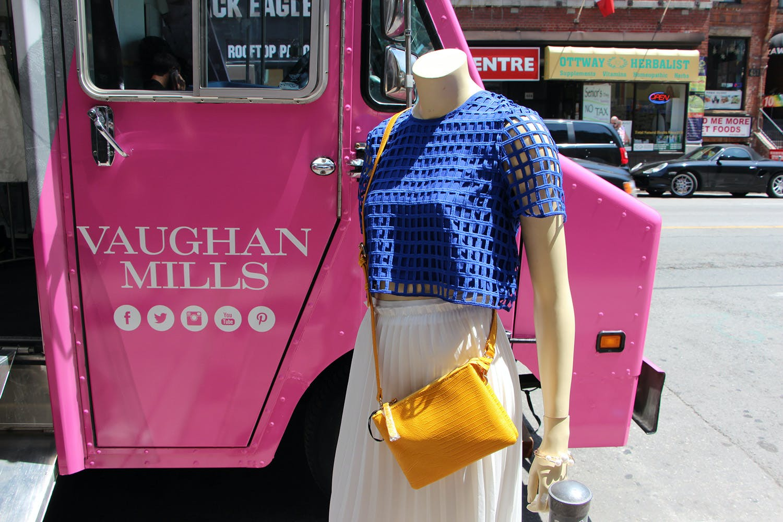 Vaughan Mills Fashion Truck