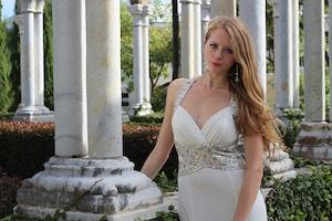 new year white dress