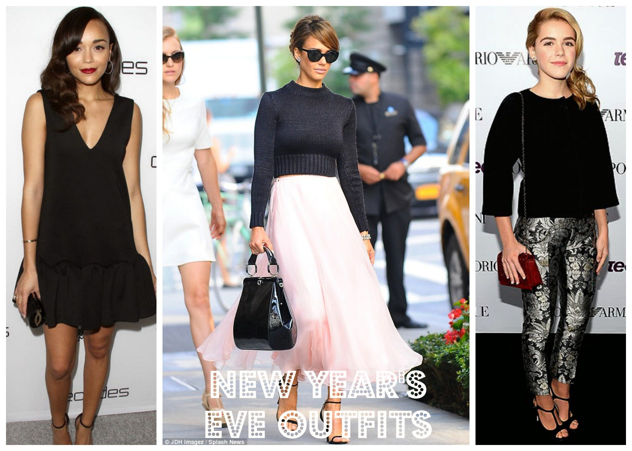 New Year's Eve outfit ideas inspired by celebrities
