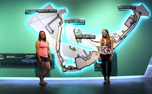 nike women 15k map at expo