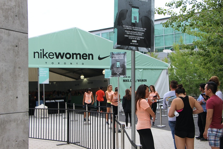 nike women toronto 15k packet pickup