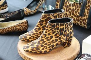 nine west fall 2015 leopard booties