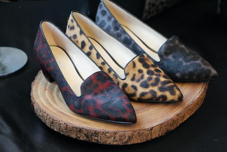 nine west fall 2015 leopard slippers