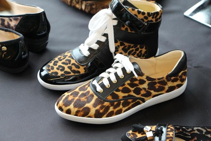 nine west fall 2015 leopard sneakers