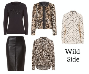 olsen fashion fall 2014 wild side leopard print