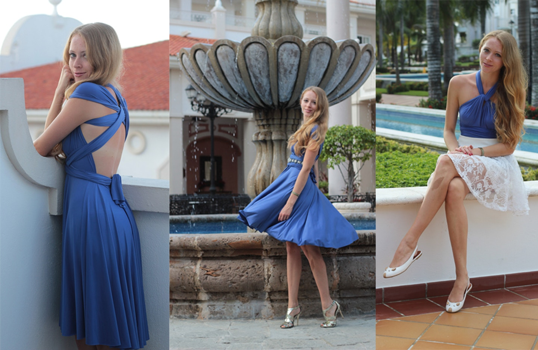 Henkaa: One dress, three ways for a vacation