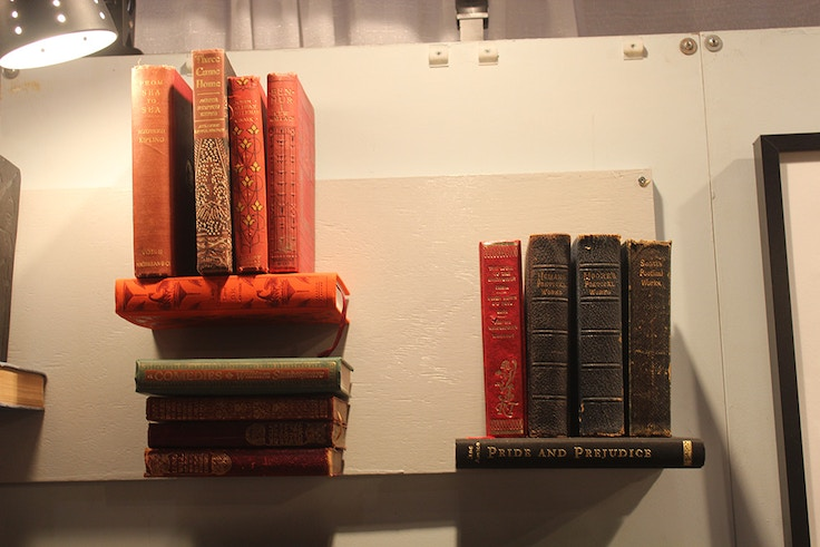 ooak book shelves