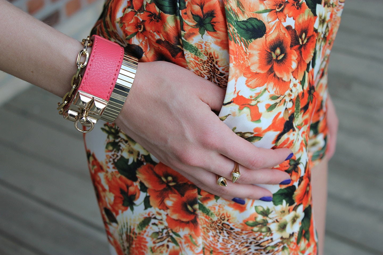 Tangerine Shorts & Lipstick