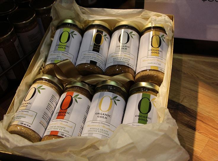 organic gold mustard