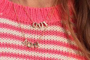 oui non forever 21 necklace