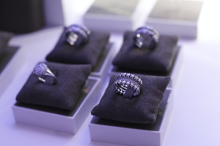 pandora silver stacking rings star 2014