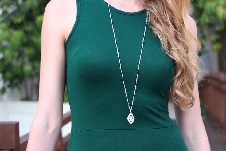 pandora vintage lace necklace
