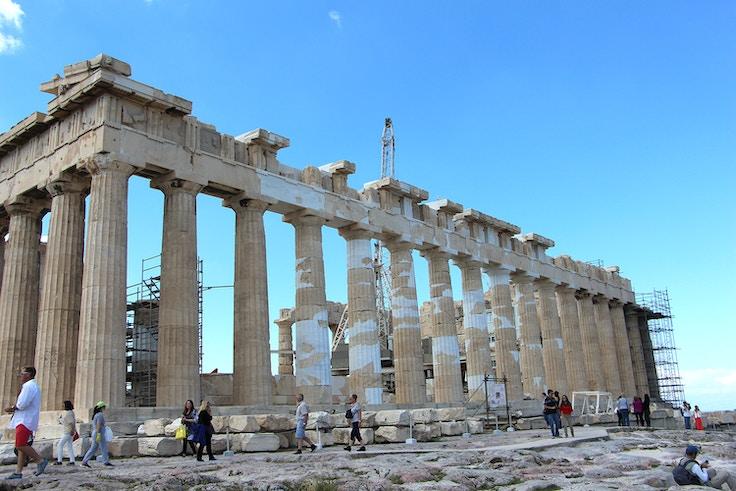 parthenon restoration