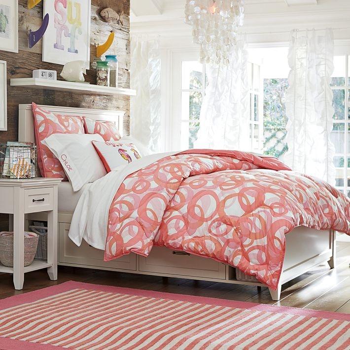 pb teen hampton storage bed
