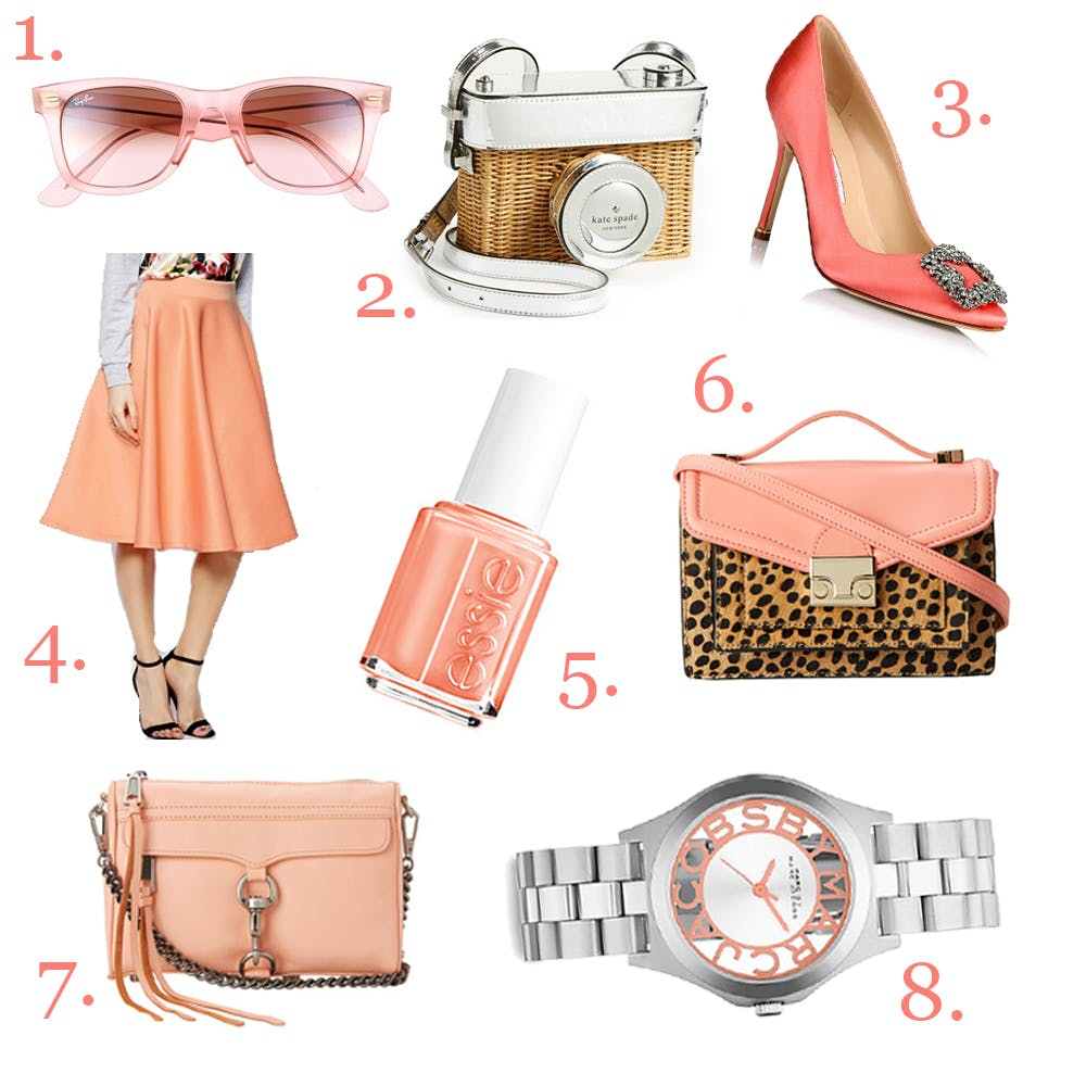 Feeling Just Peachy: my spring 2014 wishlist!