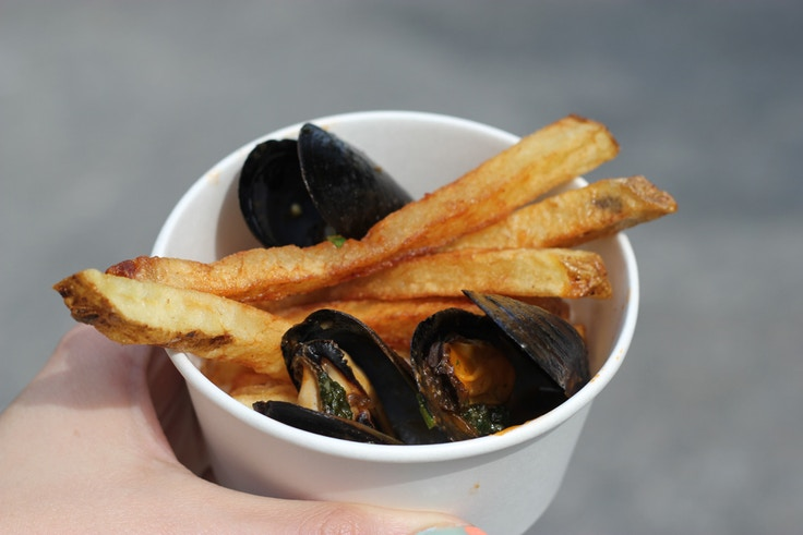 pei mussles and fries