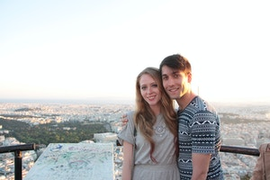 photos on mount lycabettus