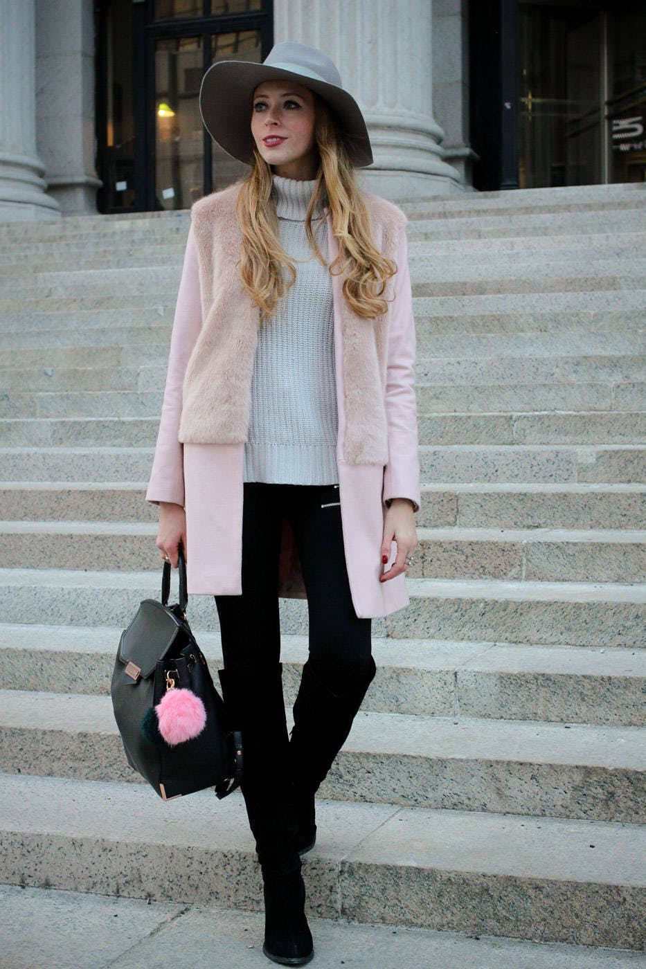 Pretty in Pink at NYFW