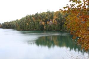 pink lake gatineau park ottawa