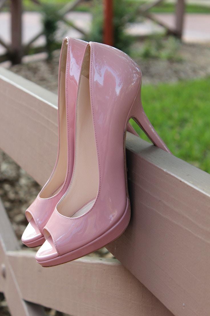 prada pink pumps orchidea