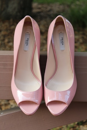 prada vernice orchidea pink pumps