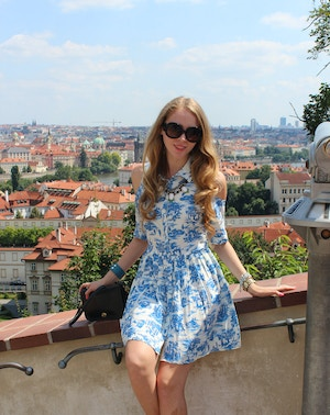 prague castle dress