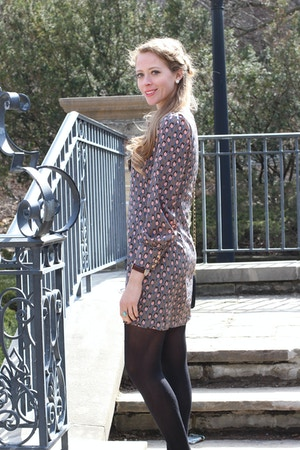 printed spring dress 3