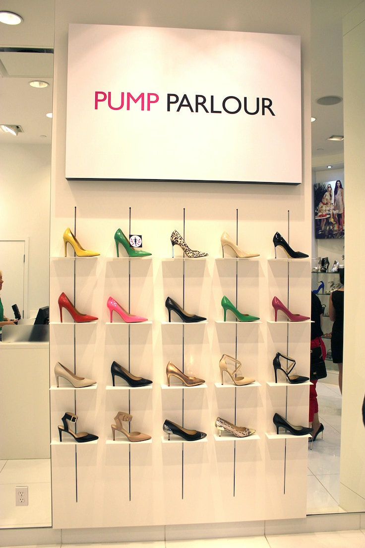 pump parlour nine west yorkdale