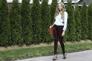 rag & bone plaid jeans fall 2014
