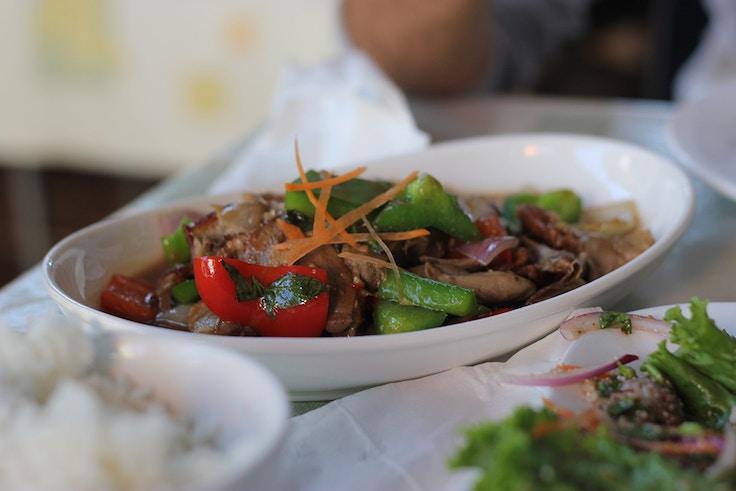 real thailand basil duck toronto