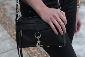 rebecca minkoff black mini mac