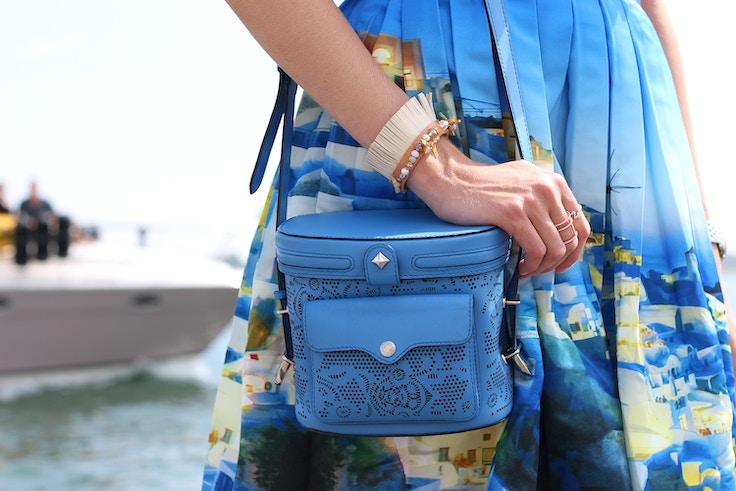 rebecca minkoff collin camera bag leather bracelet