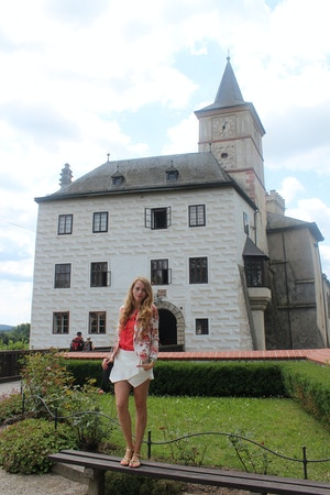 rozmberk castle bohemia