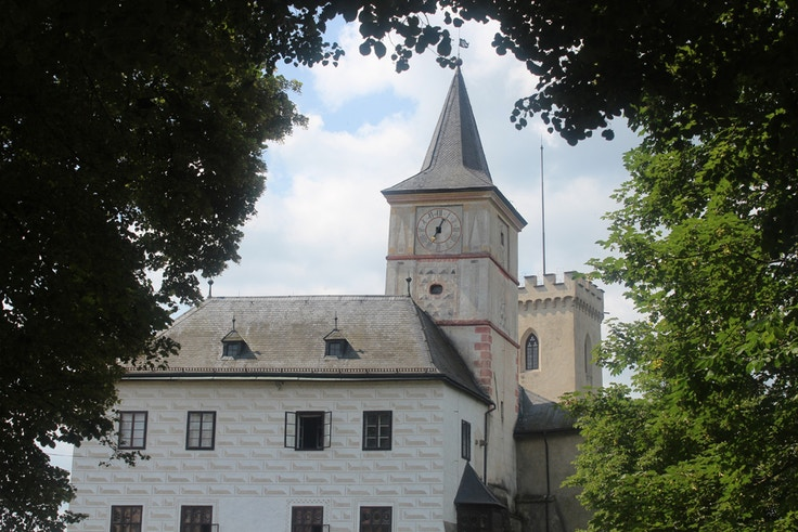 Rožmberk castle tower