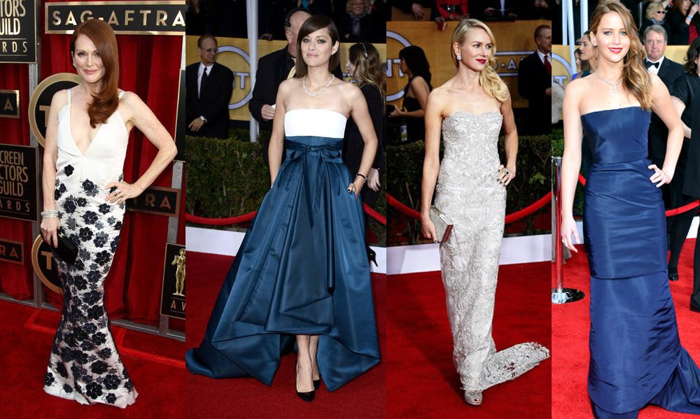 Best and Worst Dressed – 2013 SAG Awards