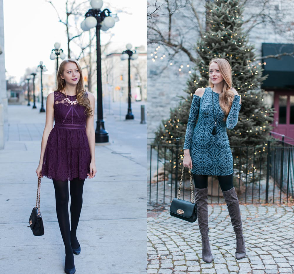 Holiday Dressing with Sears Canada Concept
