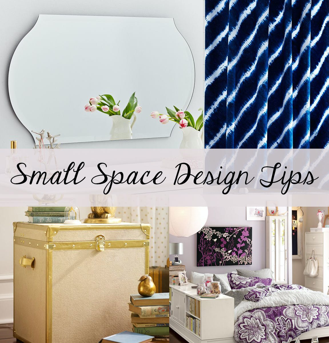 Small space design tips – how to make the most of your apartment or dorm room!