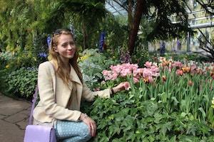 spring outfit allan gardens
