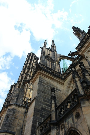 st vitus cathedral butress
