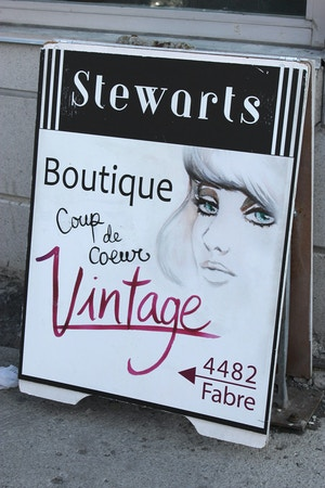 stewarts vintage in mont royal