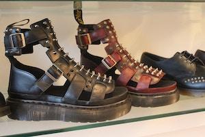 studded dr martens sandals